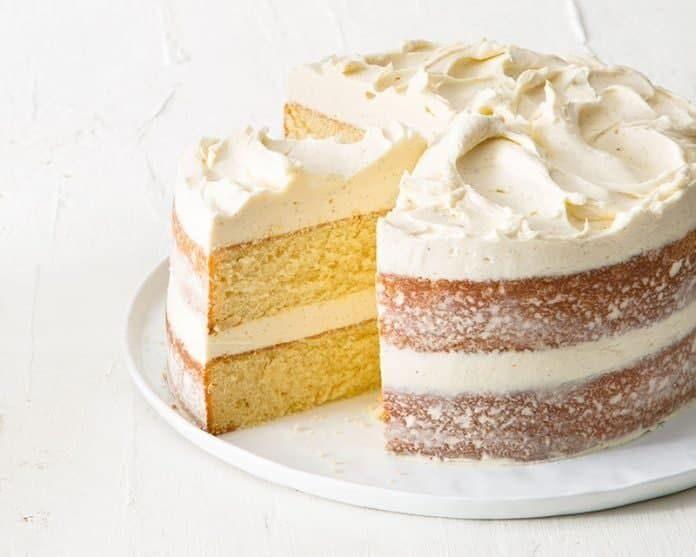 کیک برای خامه کشی