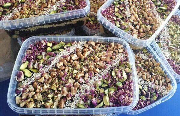 حلوا سیاه سوغات اردبیل
