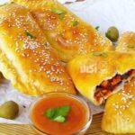 طرز تهیه پیراشکی مرغ و جوجه کباب پنیری