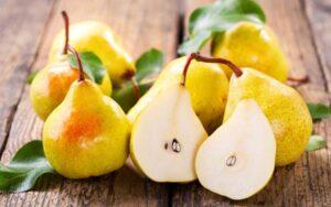 خواص میوه گلابی
