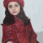 آموزش بافت شنل و کلاه بسیار زیبا دخترانه